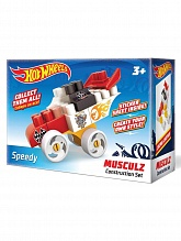 Конструктор-машинка Hot Wheels Musculz Speedy красный
